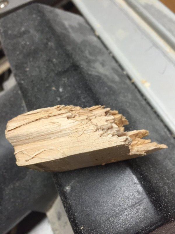 Red Ink Cricket - Cricket bat toe repair example - 2