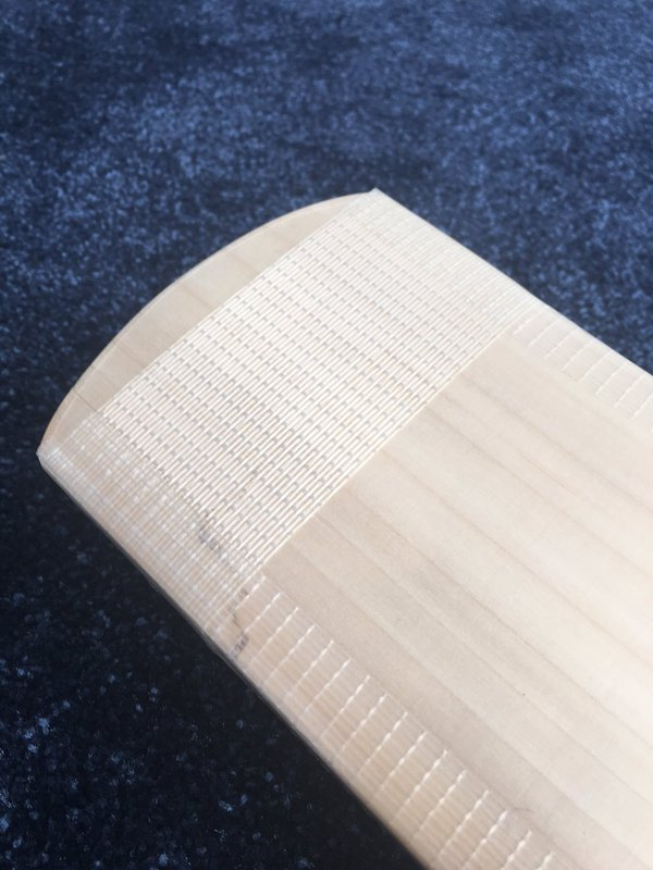 Red Ink Cricket - Cricket bat toe repair example - 7