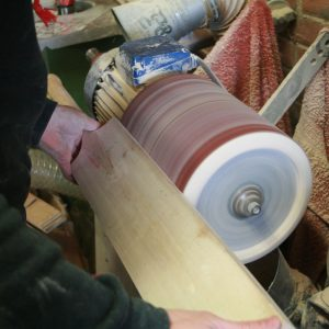 red-ink-bat-making-process-sanding